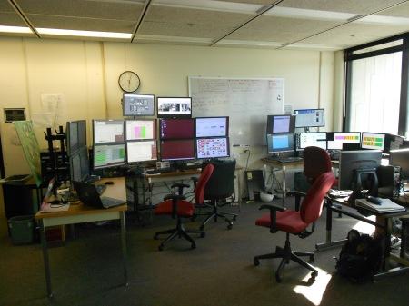 NOvA Control Room