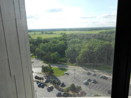Vista desde el CR. Junio 2013.